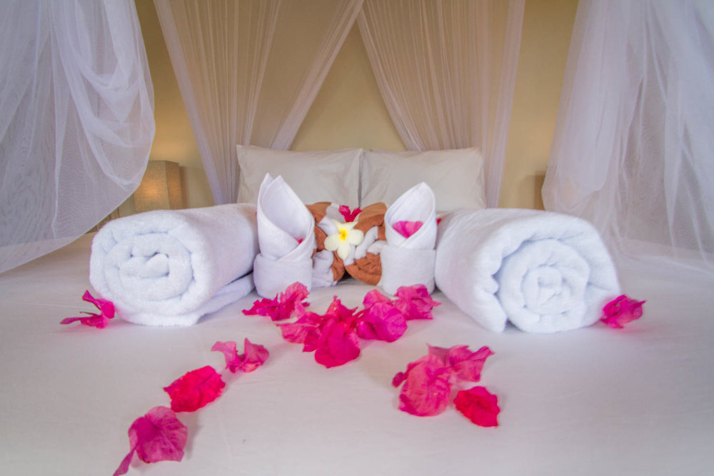 Romantic decoration - 2 bedrooms villa Avia Villa Resort Gili Meno