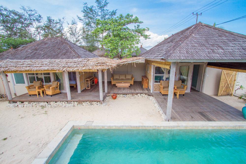 2 BDR - Avia Villa Resort - Gili Meno