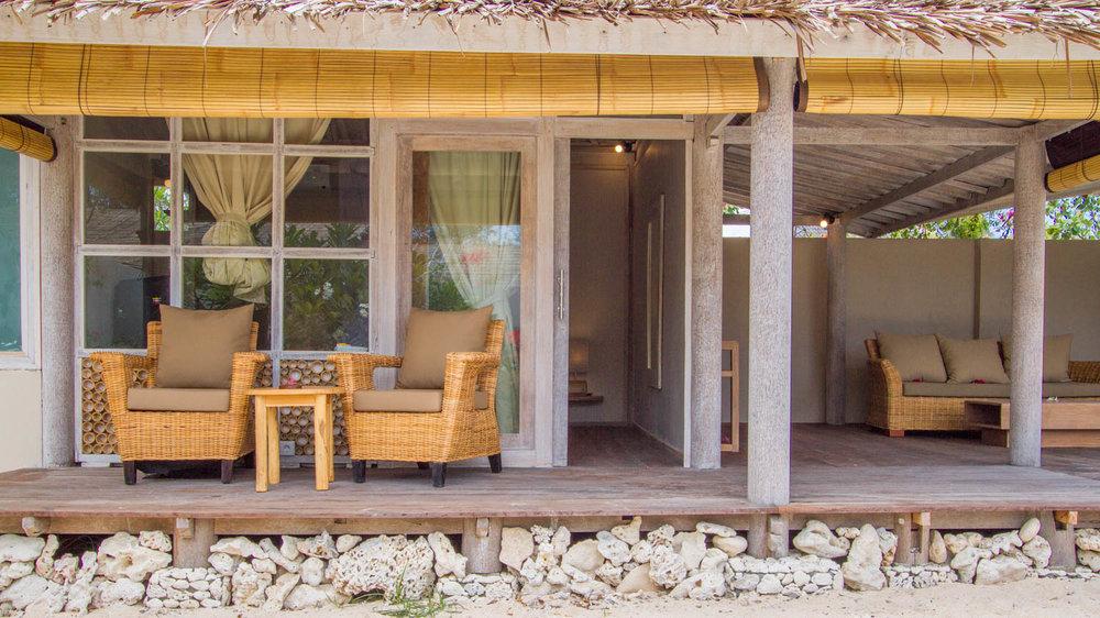 Exterior 2 bedrooms - Gili Meno