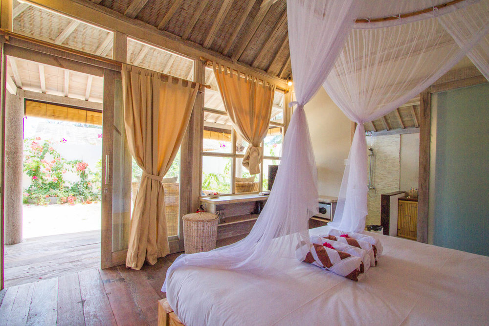 Beautiful bedroom - Gili Meno