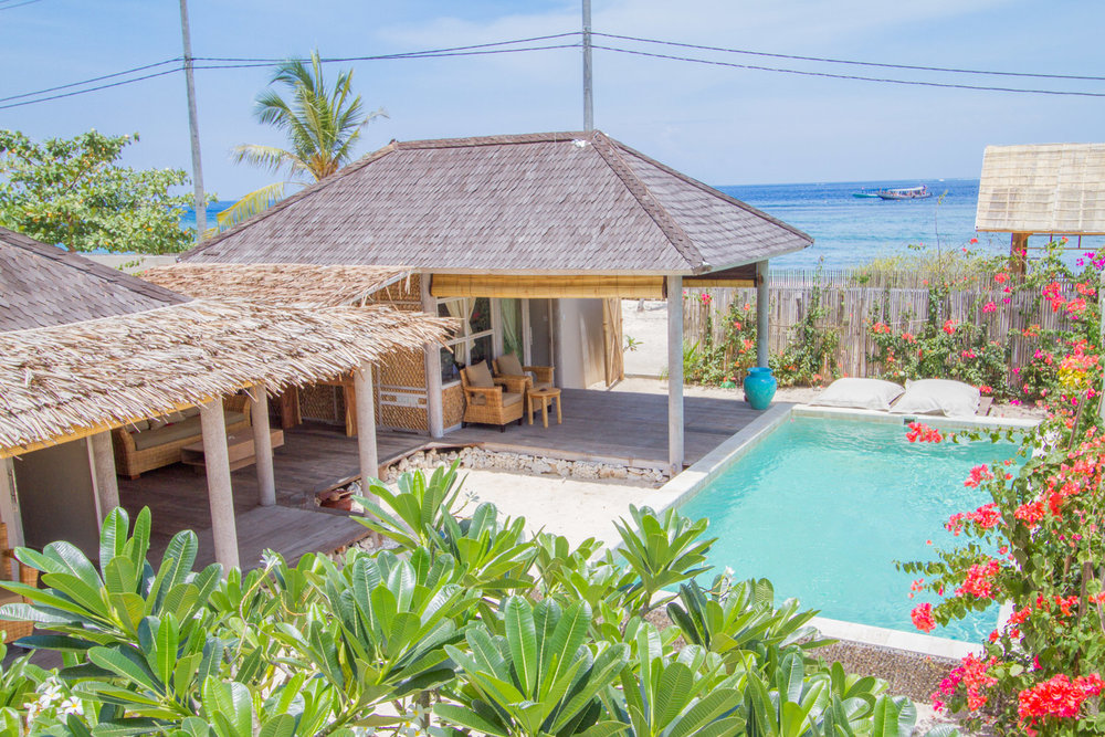 2 bedrooms villa with garden and pool Avia Villa Resort - Gili Meno