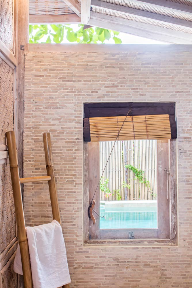 Copy of Relax bathroom - Gili Meno - Avia Villa