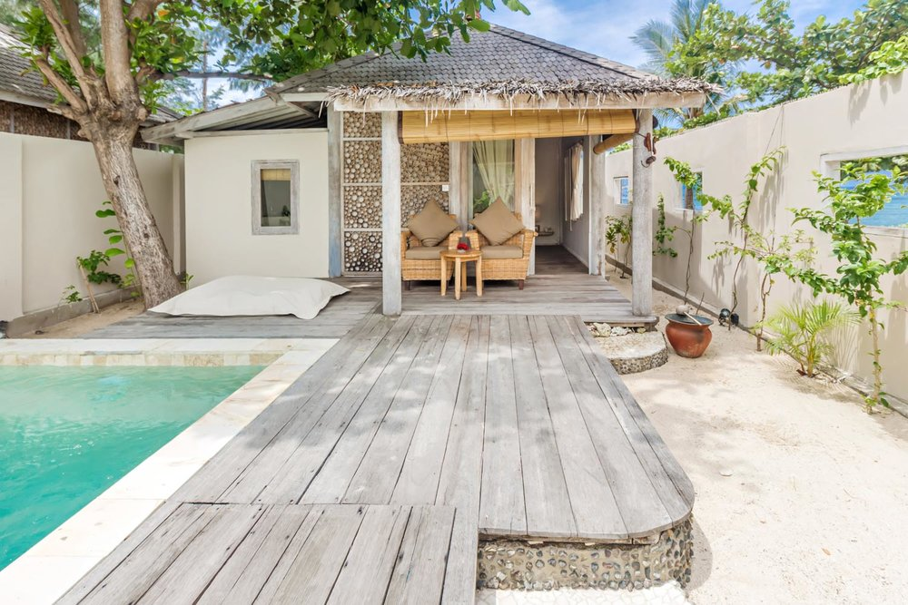 Copy of Private garden - Gili Meno