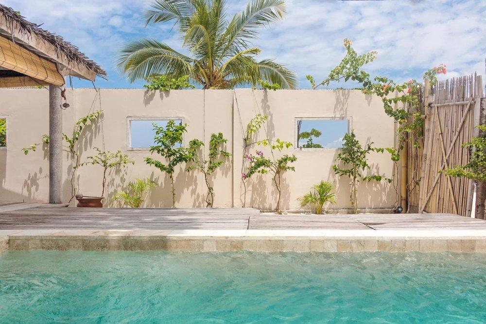 Pool - Avia Villa Resort - Gili Meno