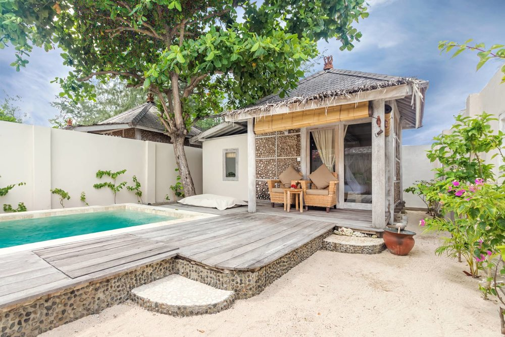 Copy of Bungalow - Avia Villa - Gili Meno