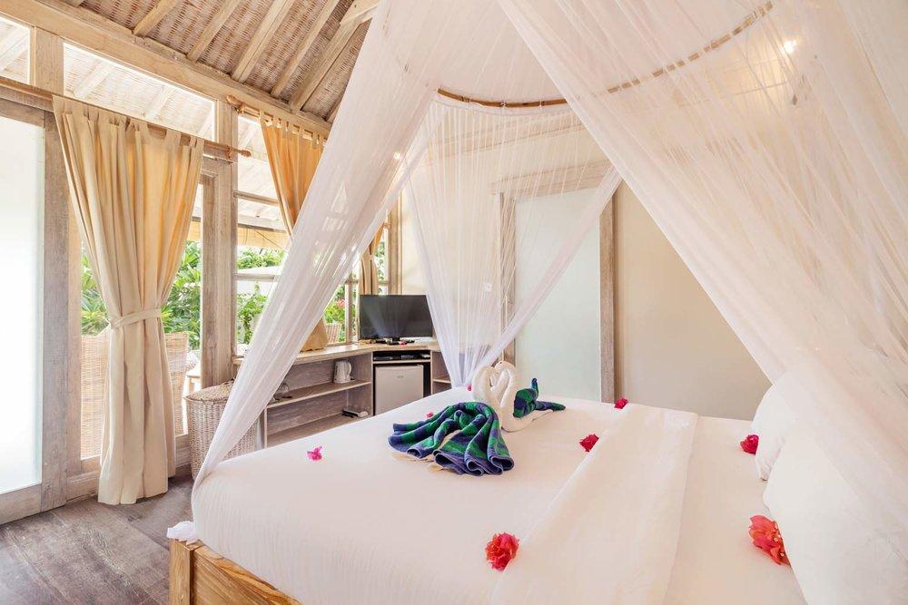 Sunny 2 bedrooms villa Avia villa resort - Gili Meno