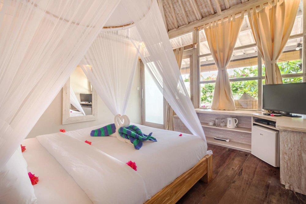 Luxury 2 bedrooms villa - Avia Villa Resort Gili Meno