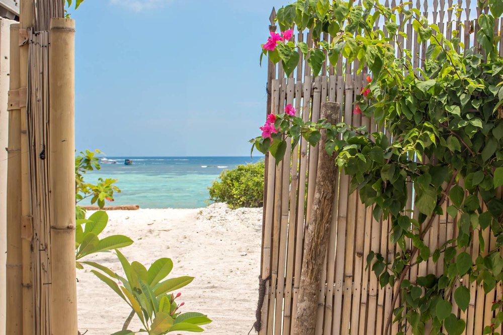 Copy of Front of the beach - Gili Meno - Avia Villa Resort