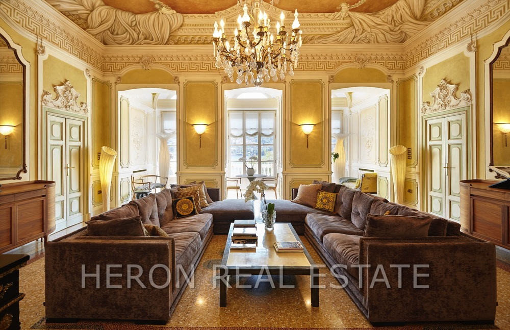 luxurious reception room