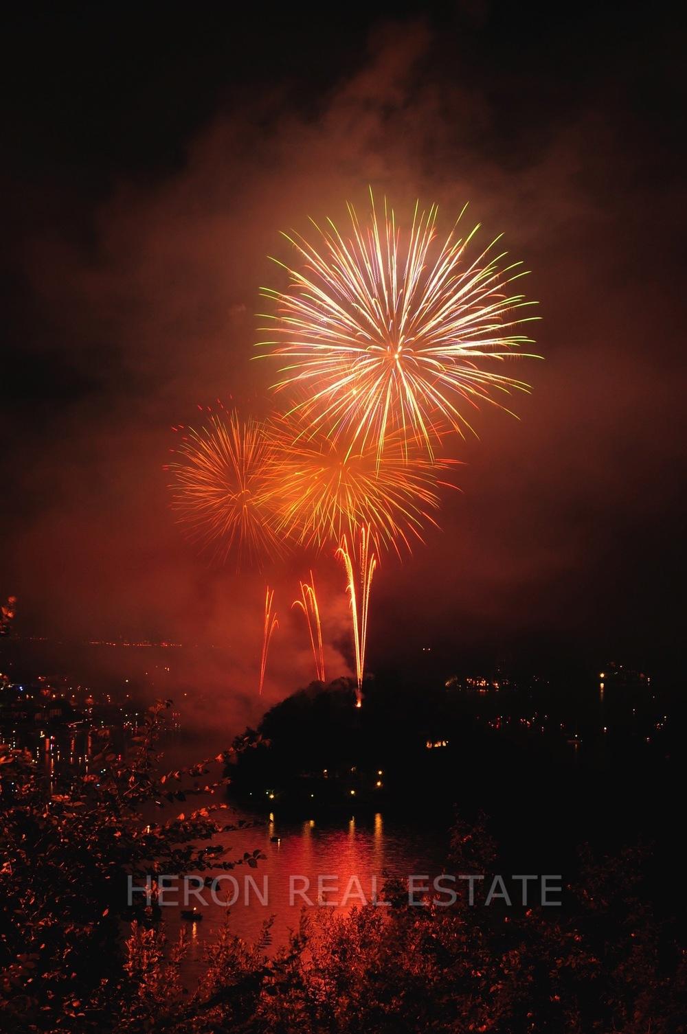 Isola Comacina fireworks