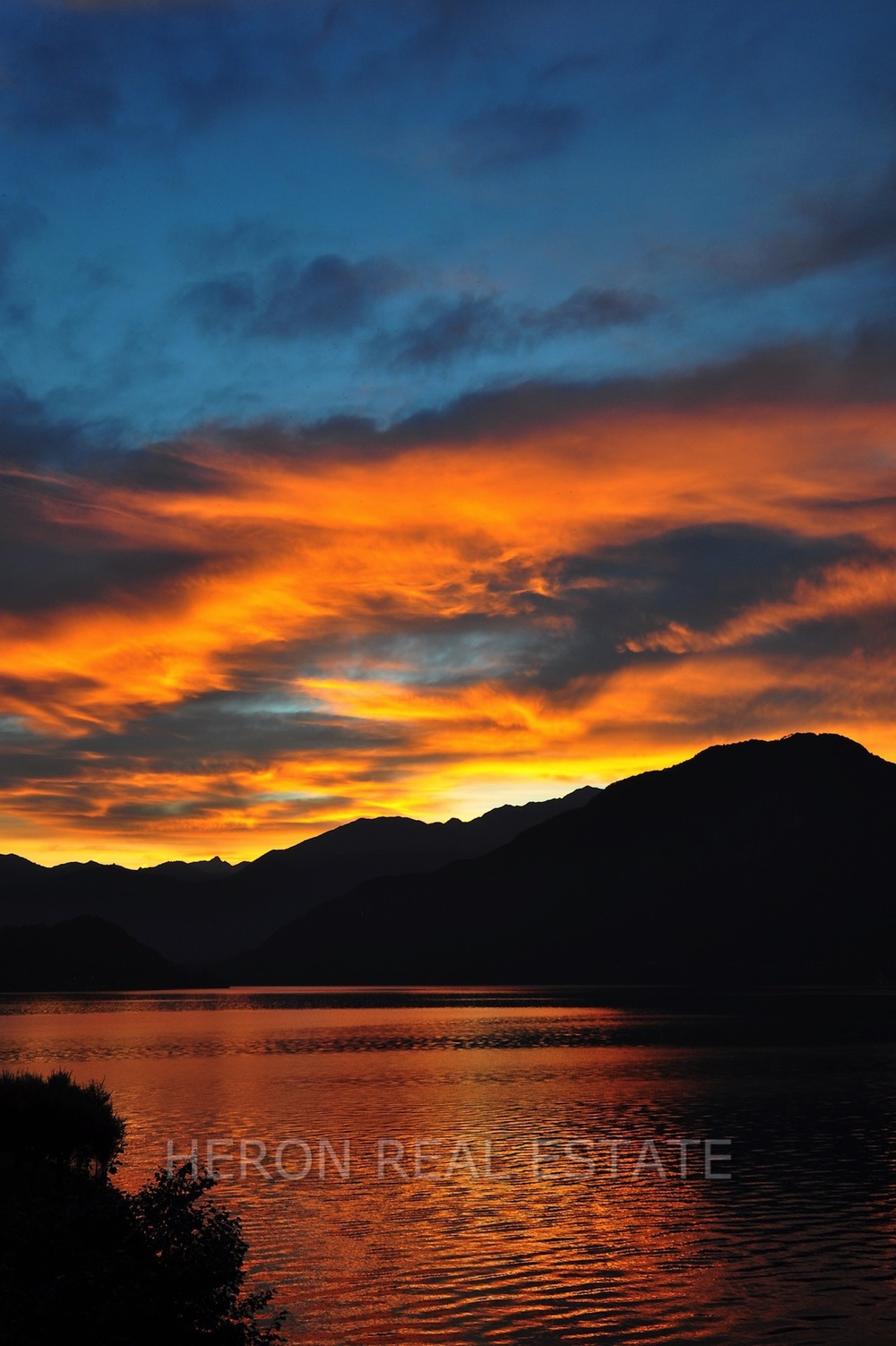 Early morning Lake Como