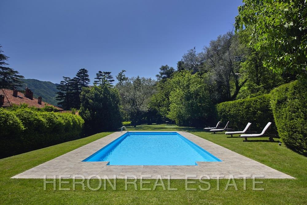 Laglio villa pool
