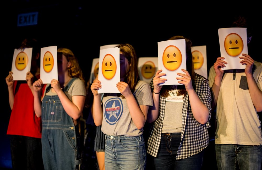 Image: From Camden Youth Theatre's  We Wanted to be the Sky
