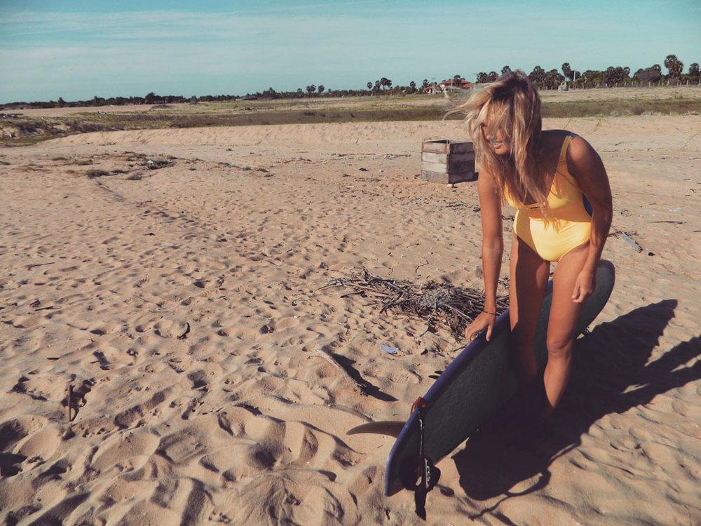 Lucy Kirk Sri Lanka Brand Kobe Surf Brand Ambassador