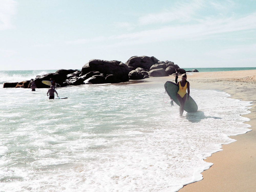 Kobe Surf Lucy Kirk Sri Lanka Surfing