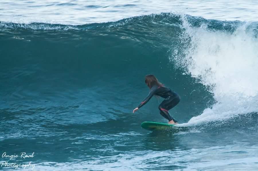 clare james kobe surf