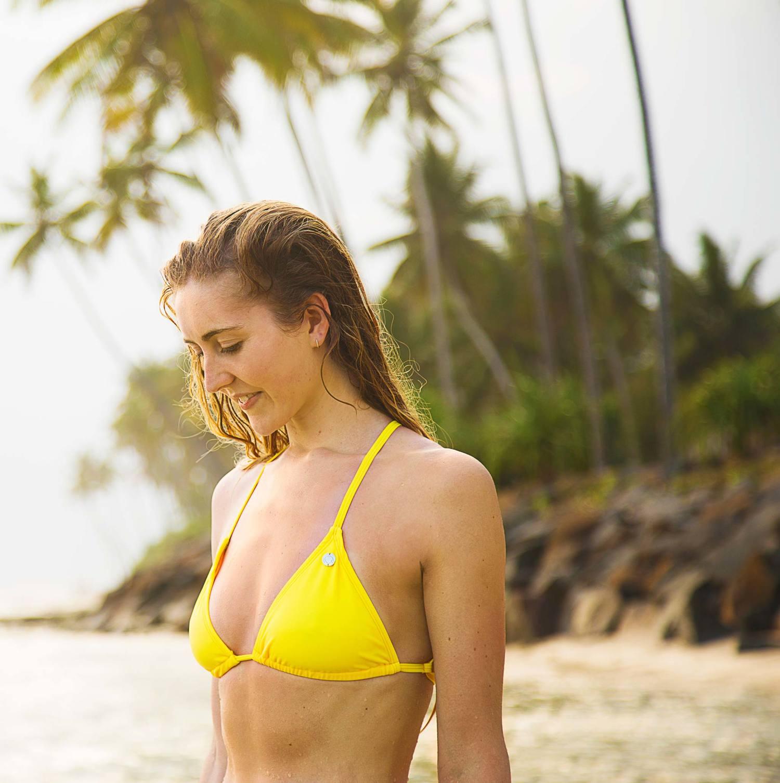 2e4727427f690 Rainbow Bikini Triangle Top — Kobe Surf