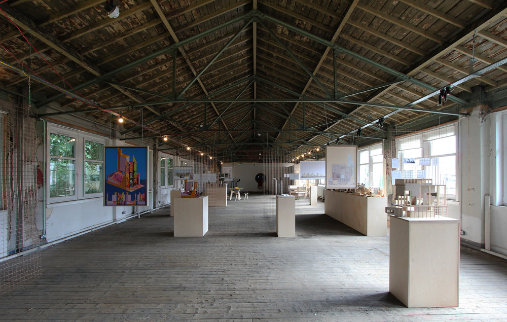 The Architecture Fringe 2017 Upper Exhibition Space At Civic House. Image:  Robb Mcrae