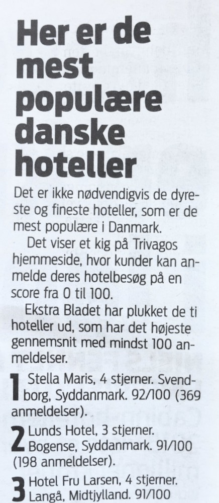 Fra Ekstra Bladet september 2016