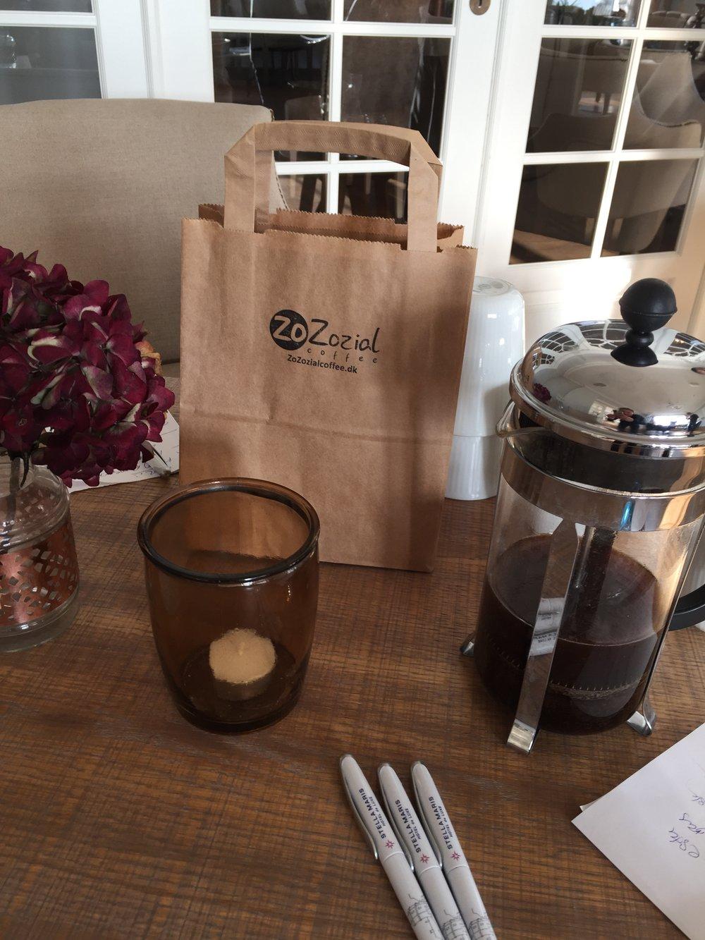 Stella Maris Hotel de Luxe får deres egen signaturkaffe