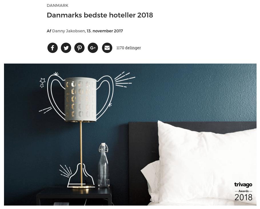 Stella Maris kåret til Danmarks bedste firestjernede 2018   Læs her