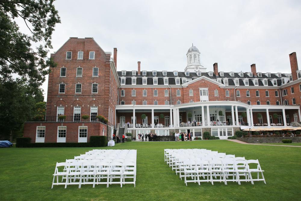 Mansion set up before wedding