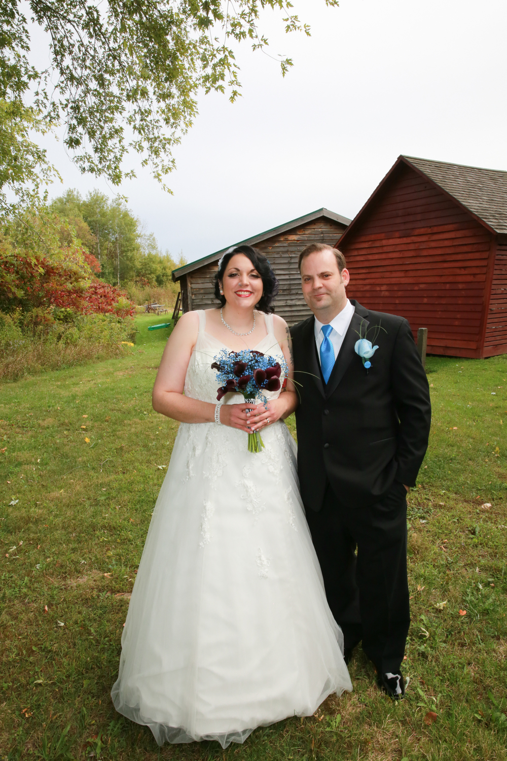 Wedding at Mabee Farm Historic Site