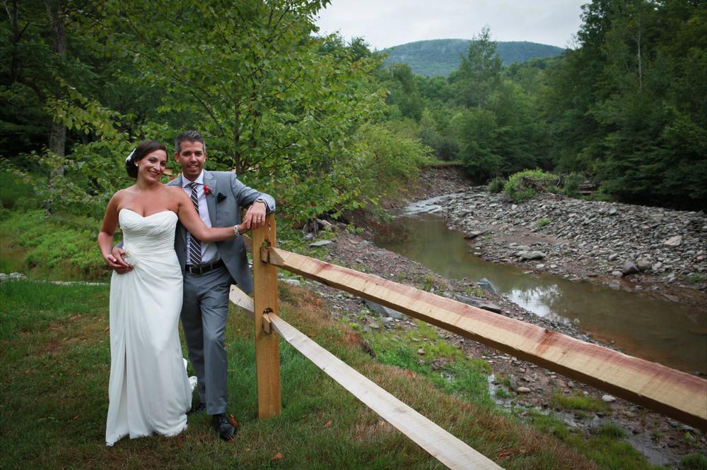 Wedding Couple at the Full Moon Resort