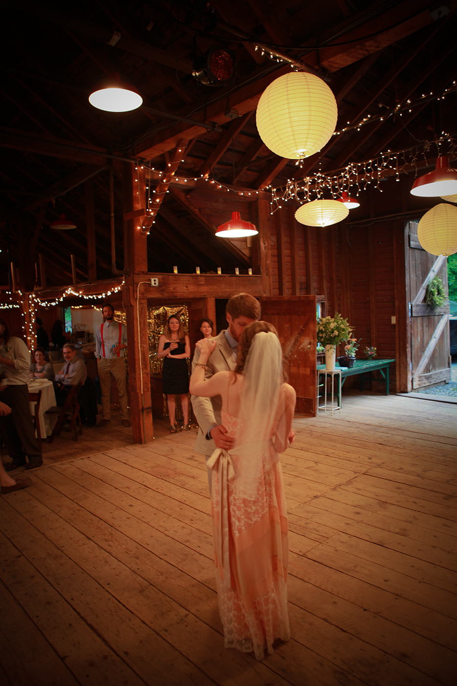 There is a special charm to a Barn Wedding,