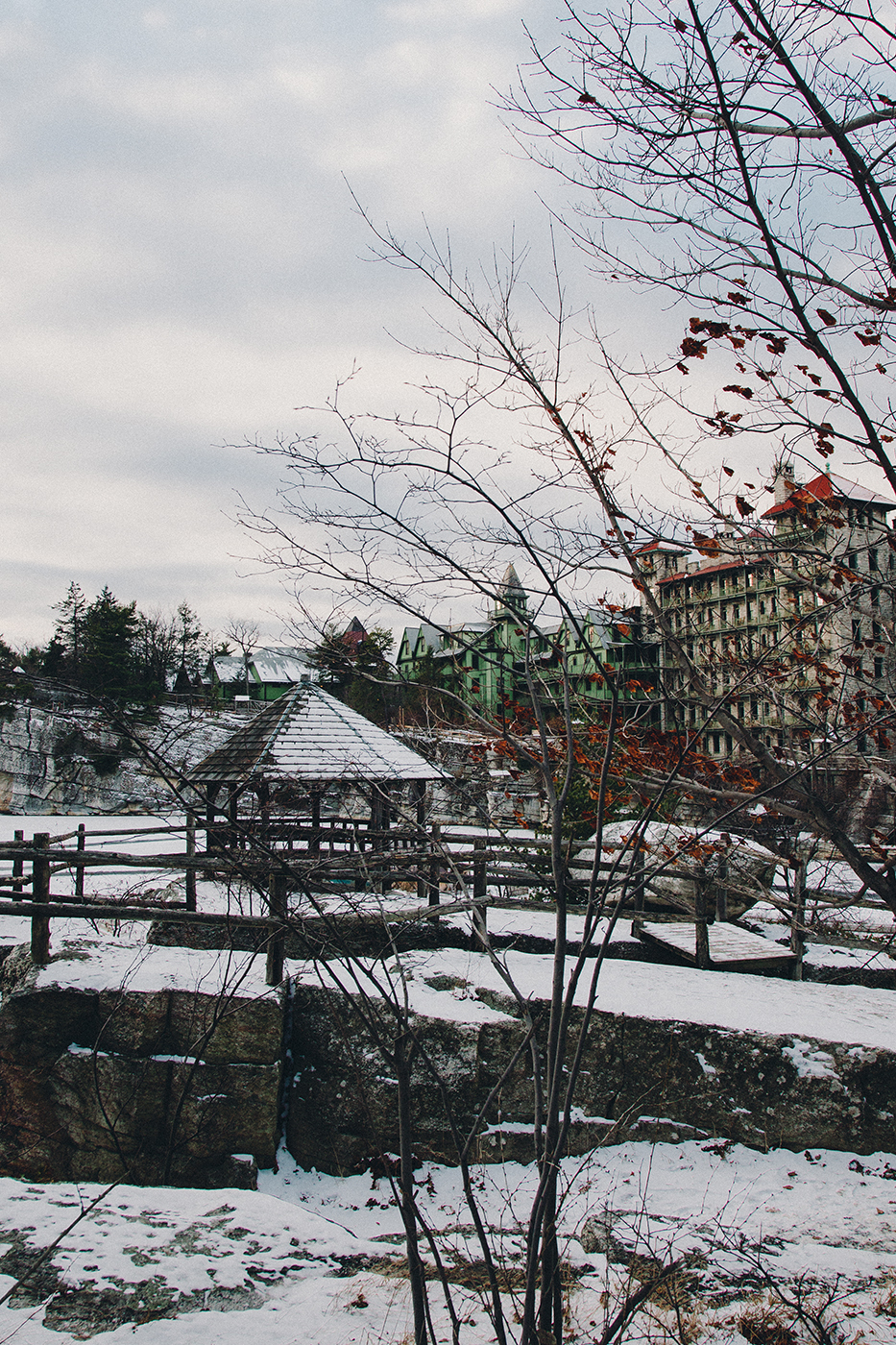 Photograph of the different view of The Mohonk Mountain House