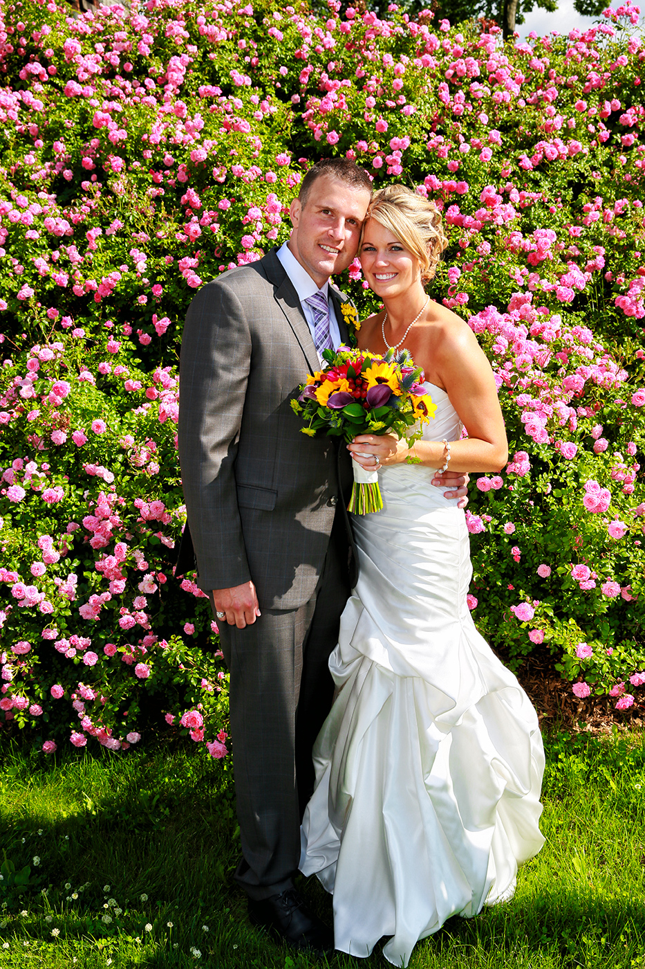 Wedding Portrait at Marist Collage-Aperture Photgraphy