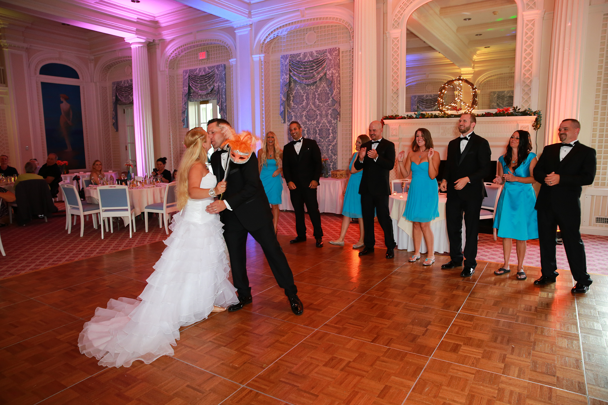 First dance wedding photo by Aperture Photography