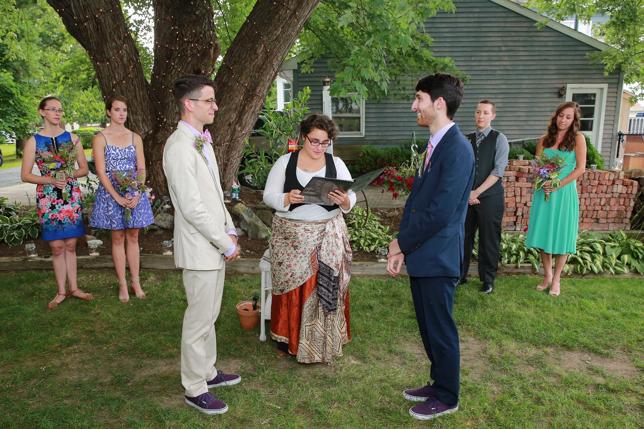 Wedding Ceromony near Albany NY