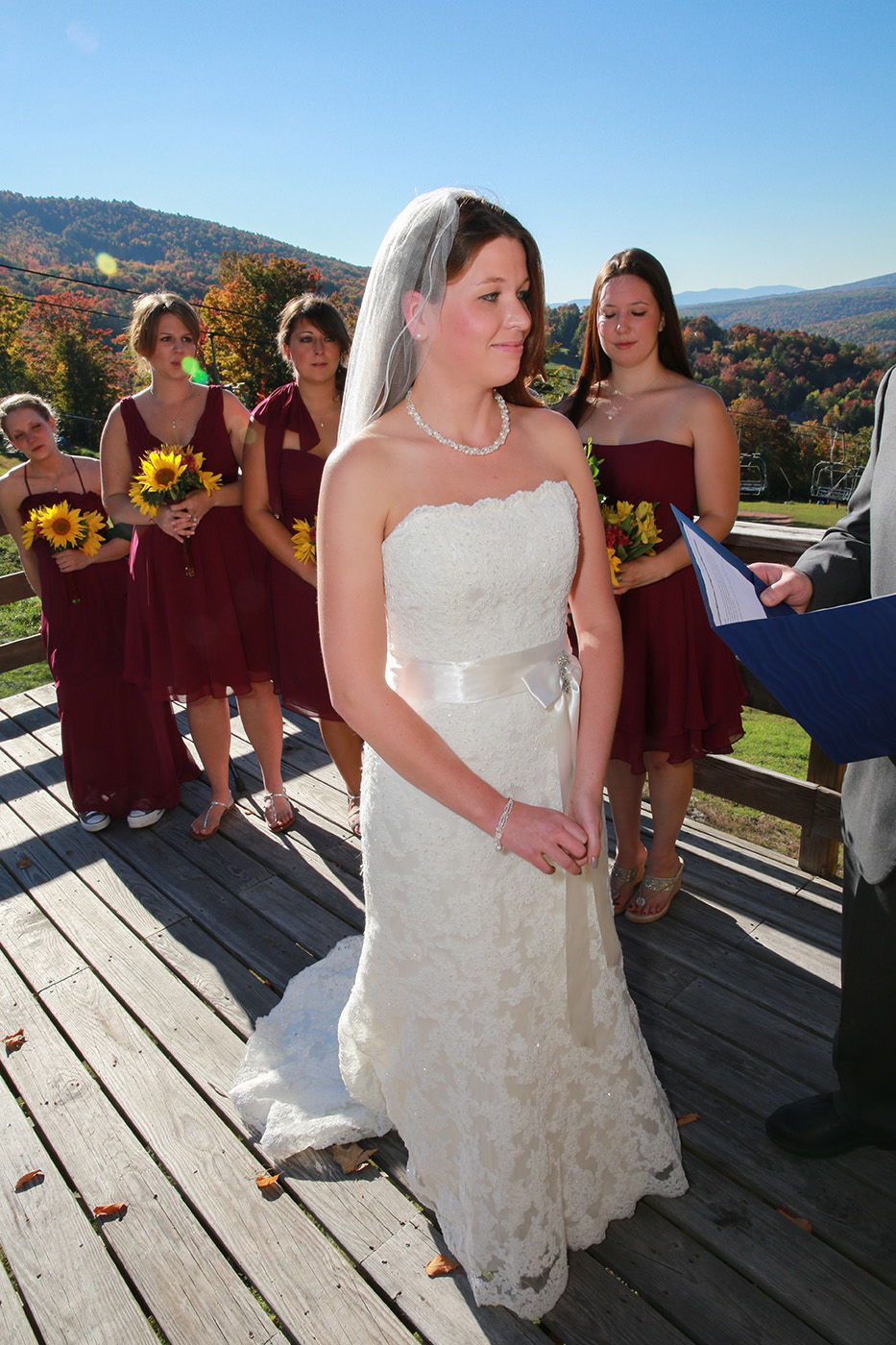 Windham Mountain Bride