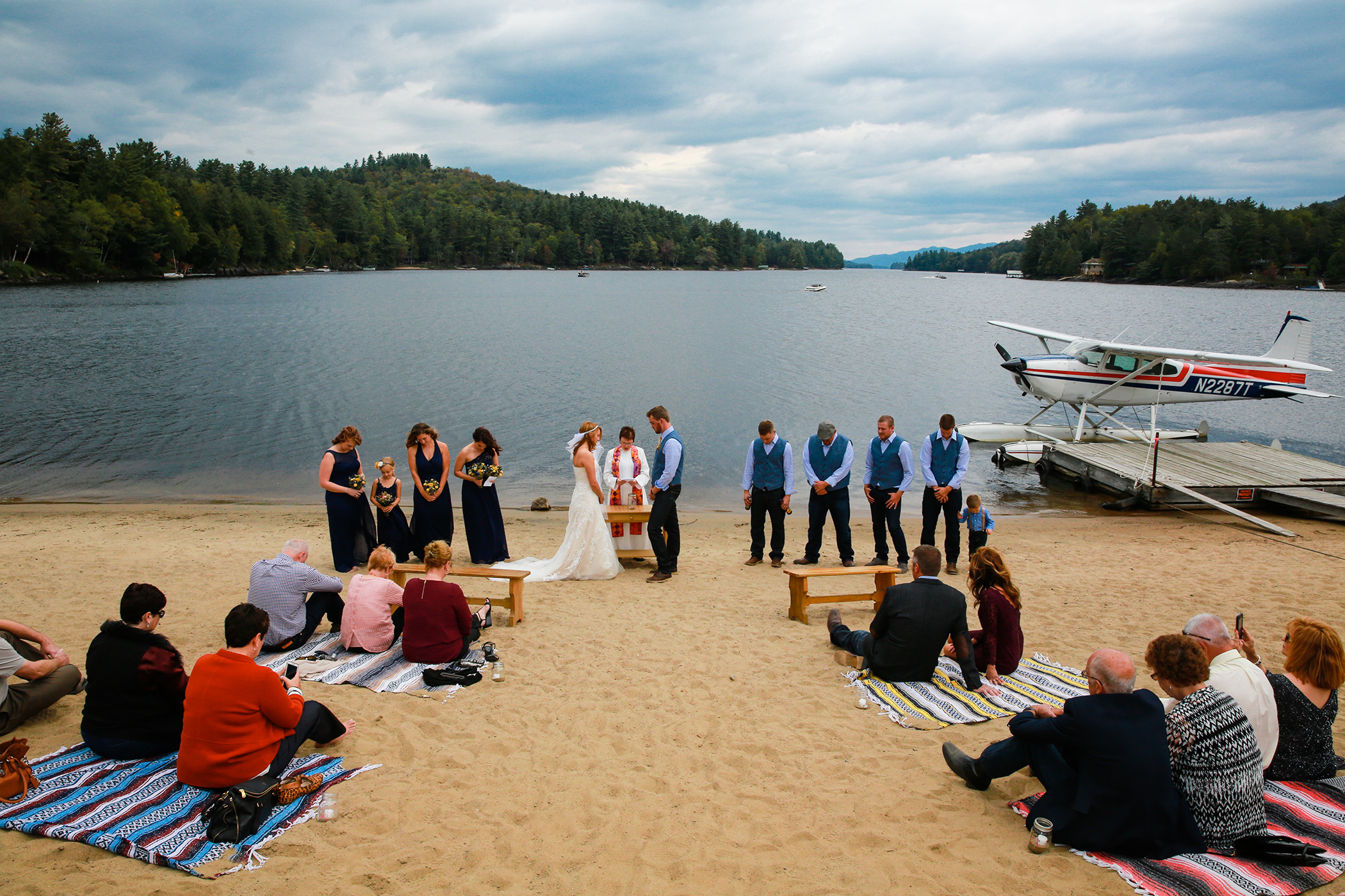 Wedding photography in the Catskills by Aperture Photography