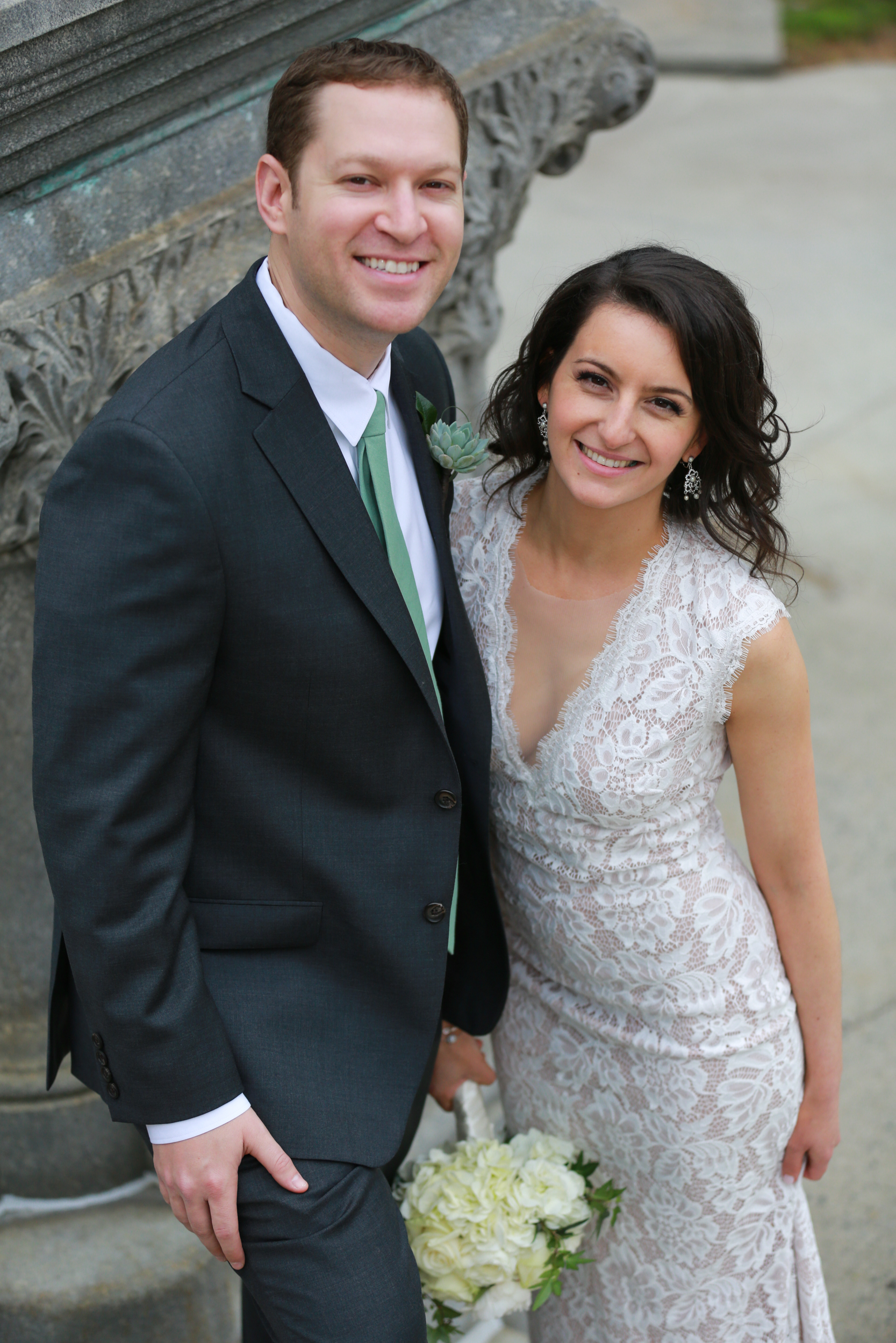 Wedding Couple in Albany NY, by Aperture Photography