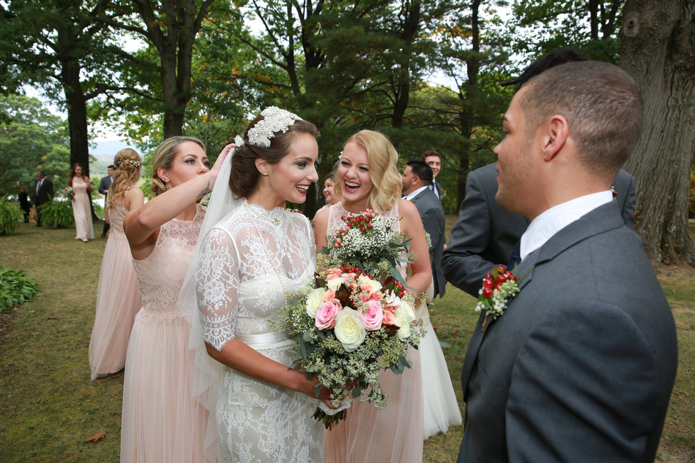 Wedding photography in Hudson NY