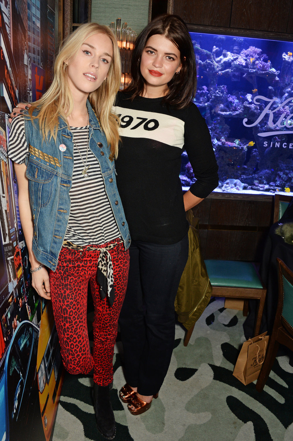 Mary Charteris & Pixie Geldof