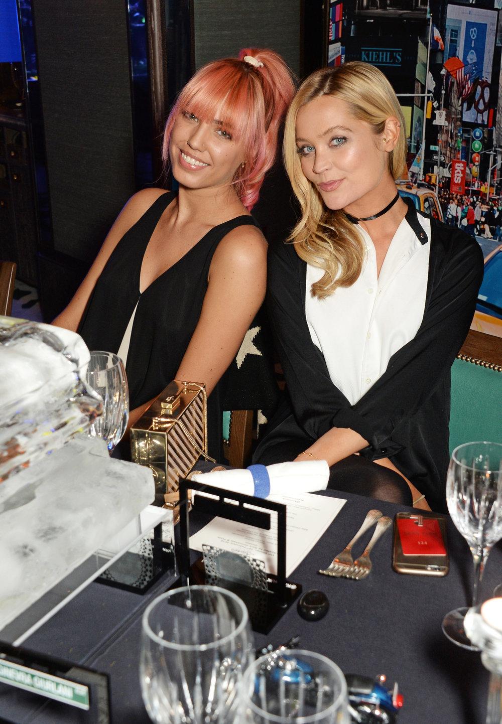Amber Le Bon & Laura Whitmore