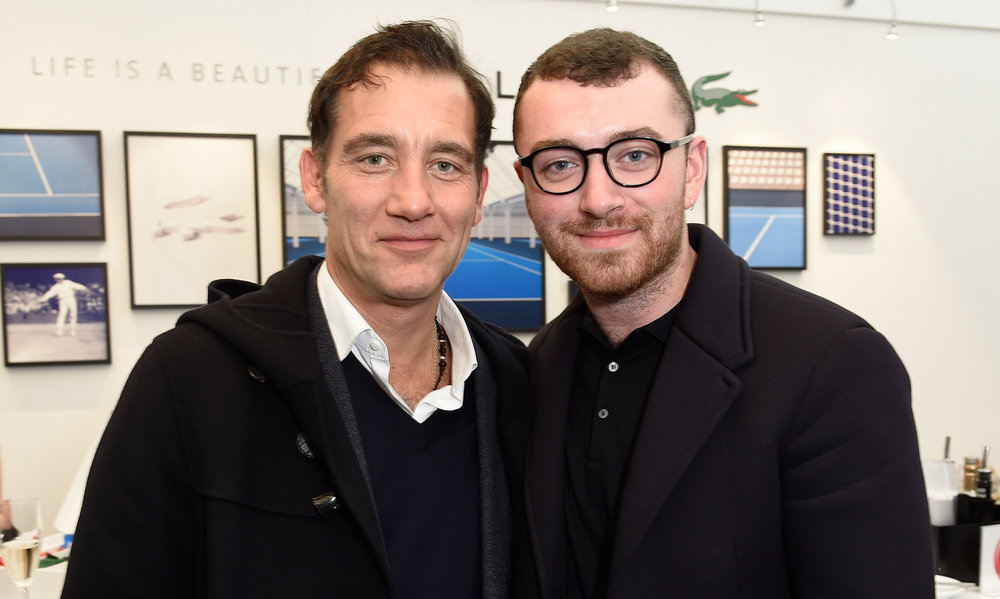 Clive Owen and Sam Smith