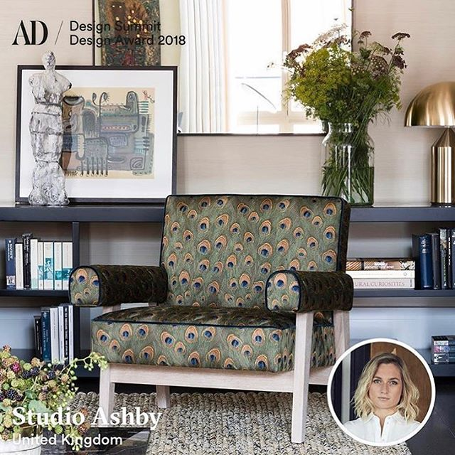 #ITBclient @studioashby has been nominated for an #ADdesignaward in the Interior Design category by @ad_germany! Head over to their website if you think she should win the reader's award too 🏆✨ #addesignsummit #adgermany #addesignaward #sophieashby #studioashby #interiordesign