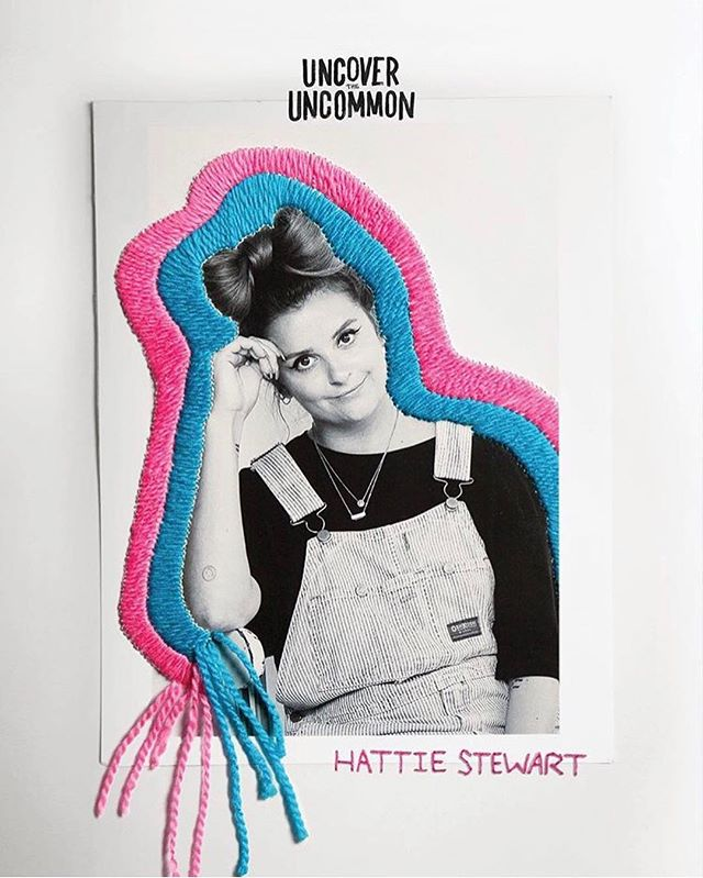 Professional Doodler & #ITBclient @hattiestewart has designed a collection with @stancesocks through the power of a playful aesthetic ✨🧦 check out their website to shop! #uncovertheuncommon #stancesocks #hattiestewart #doodlebomb #ITBrep