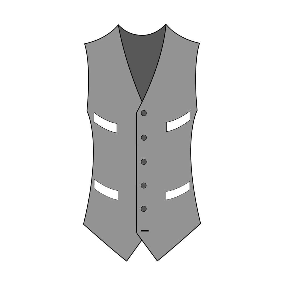 Single-Breasted Four Pockets
