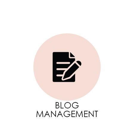Blog Management from Hustle + Grace Co.