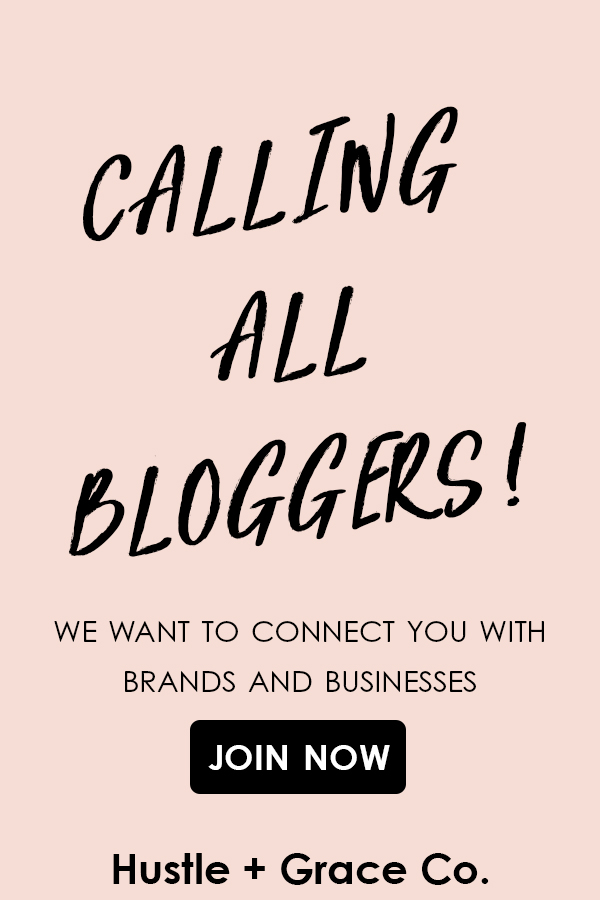 Bloggers, we want YOU! We are a boutique marketing firm and we are looking to connect bloggers and influencers with the brands we represent for product reviews and sponsored posts. Click on the image above, fill out the Blogger Application, and let's make beautiful things happen! | Hustle + Grace Co. // Marketing for the Modern Entrepreneur | www.hustleandgraceco.com | #blogging #influencermarketing #fashionblogger #beautyblogger #momblogger #bosslady #followyourpassion