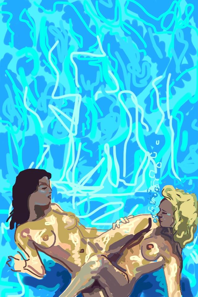 Queer pornstar Jiz Lee recommended an underwater scene