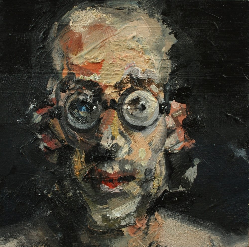 Self-Portrait (on the side)