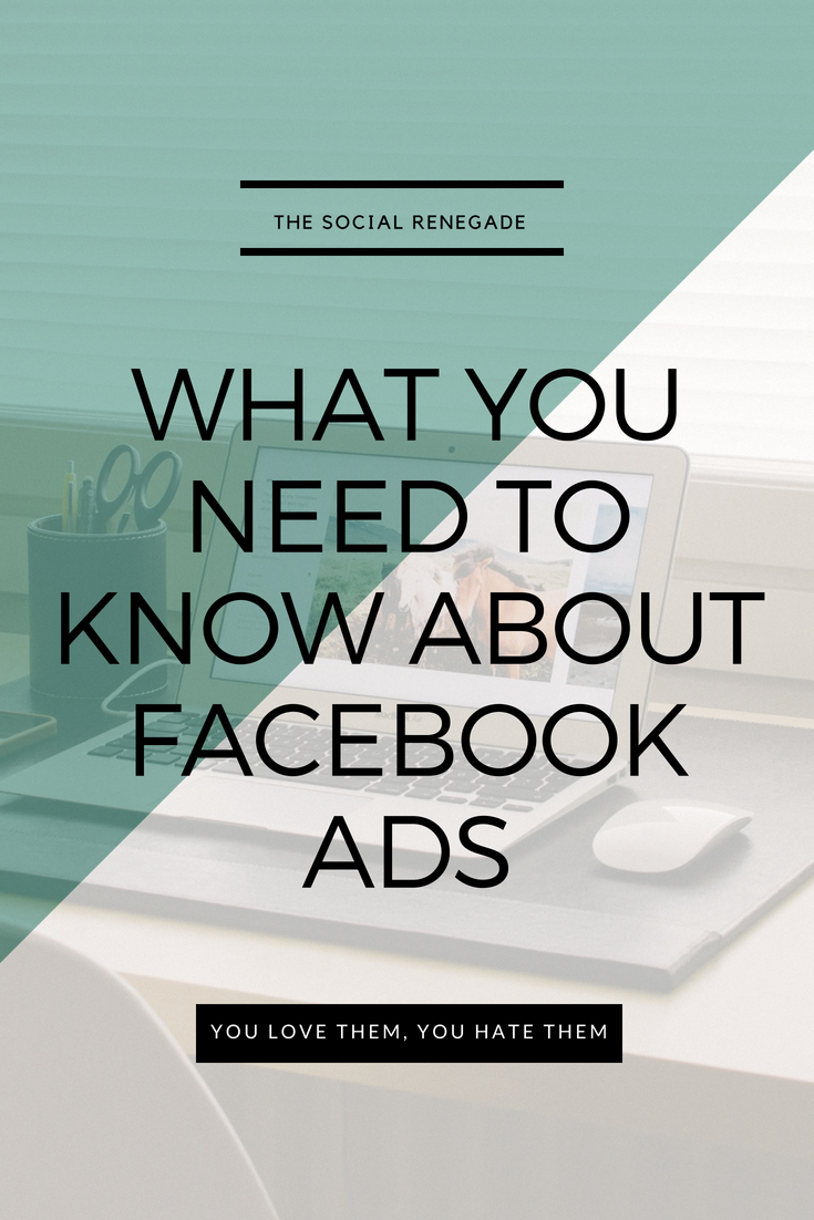 What you need to know about Facebook ads. You love them, you hate them. Let's discuss the most effective way to use this as part of your small business marketing strategy.