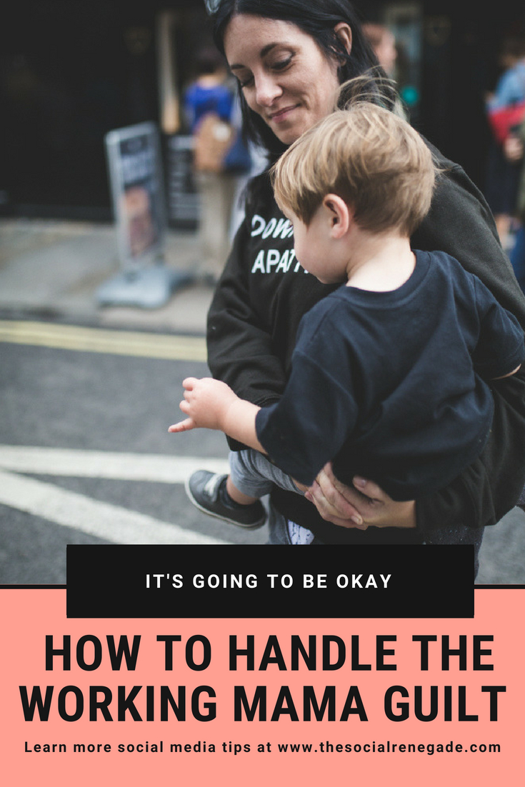 Too busy chasing the kids to build your biz?  Try and make the time but then get filled with so much guilt that you aren't there for them? Right, let's stop this inner dialogue and let's get ready for the ultimate pep talk. How to Handle Working Mom Guilt.