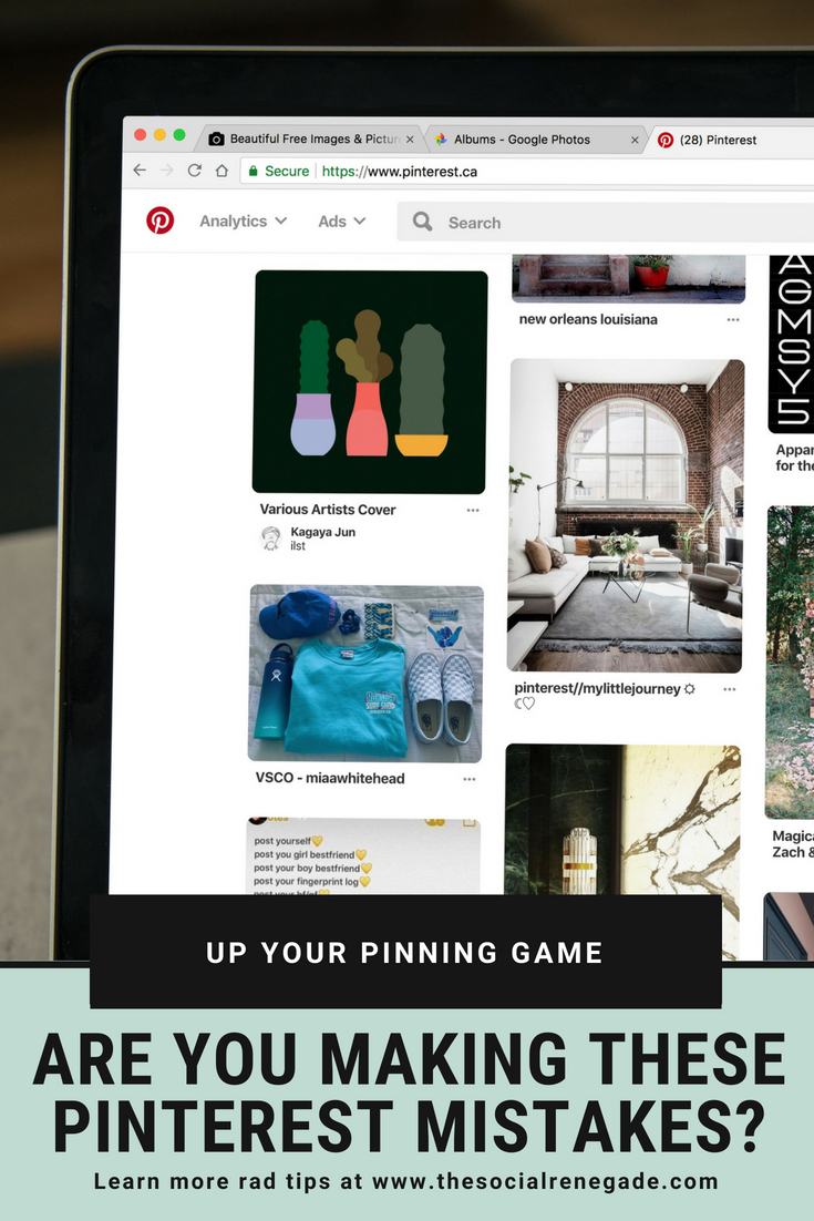 Are you making these Pinterest mistakes? Learning the right steps to take to grow your Pinterest traffic is imperative. Let me help.